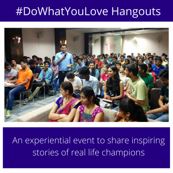 #DoWhatYouLove Hangouts